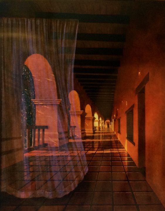 The Mission Hallway - Steve Brumme