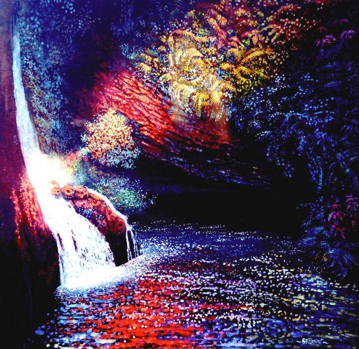 The Hawaiian Cave Pool - Steve Brumme