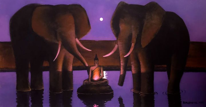 Siddhartha and the Elephants - Steve Brumme