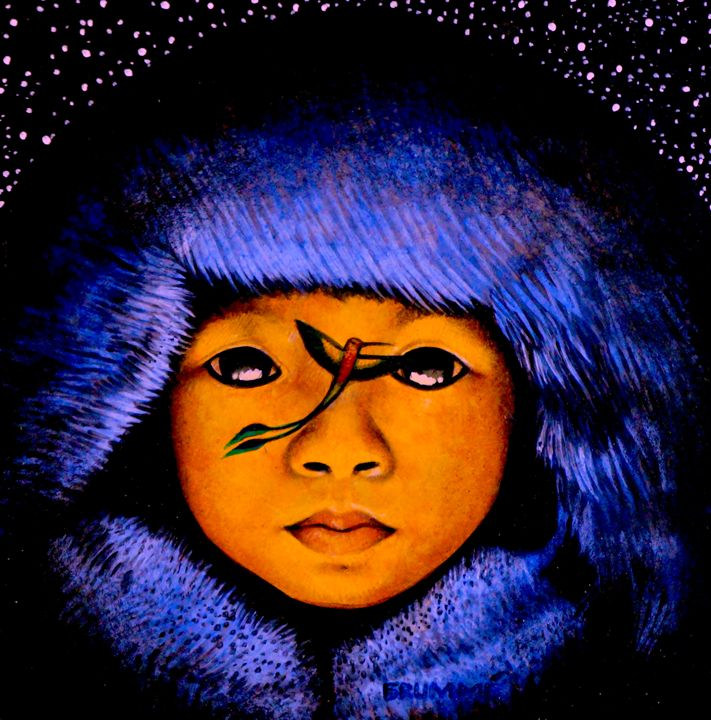The Mongolian Child & Humming Bird - Steve Brumme