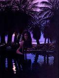 Moon Goddess in Oasis