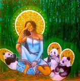 Quan Yin and the Panda Saints