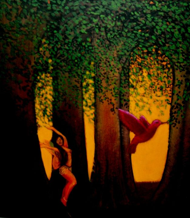 The Dancer and the Humming Bird - Steve Brumme