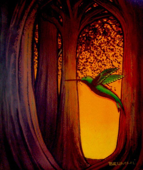 The Green Humming Bird - Steve Brumme