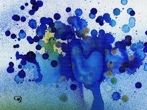 Blued Heart
