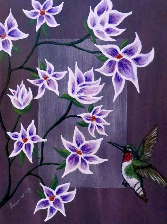 Hummingbird Delight - Teresa Wing