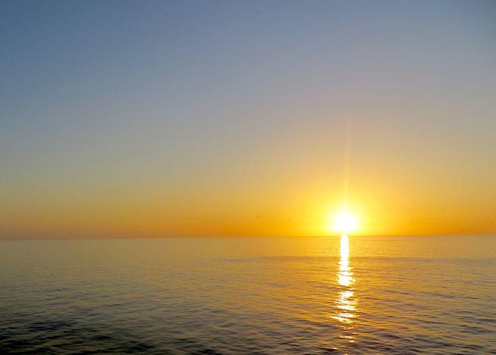Sunset on the Atlantic Ocean - Teresa Wing