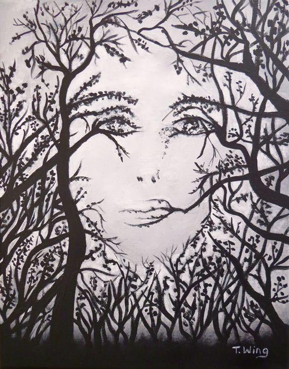 Hidden Face - Teresa Wing
