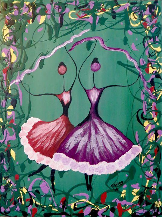 Festive Dancers - Teresa Wing