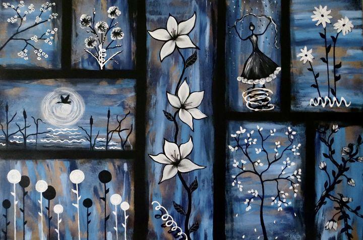 Memories in Blue - Teresa Wing