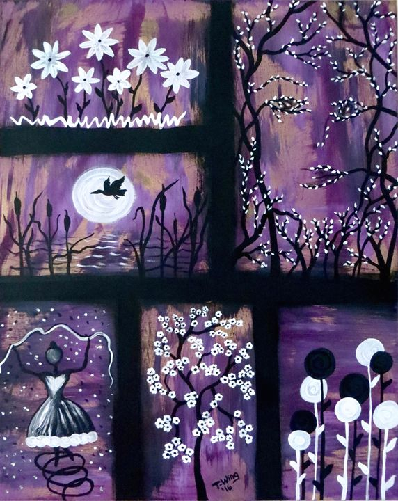 Memories in Purple - Teresa Wing