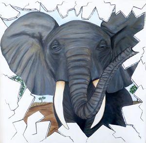 Eavesdropping Elephant