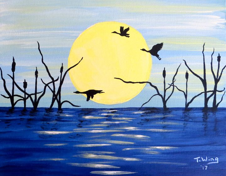 Morning Geese - Teresa Wing