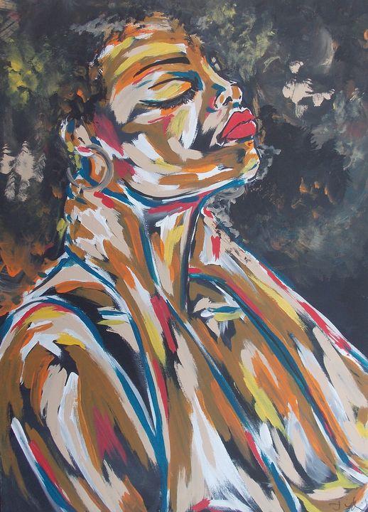 Hippie Reflection - Hippie Queen Artwork