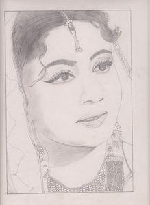 Actress Meena Kumari