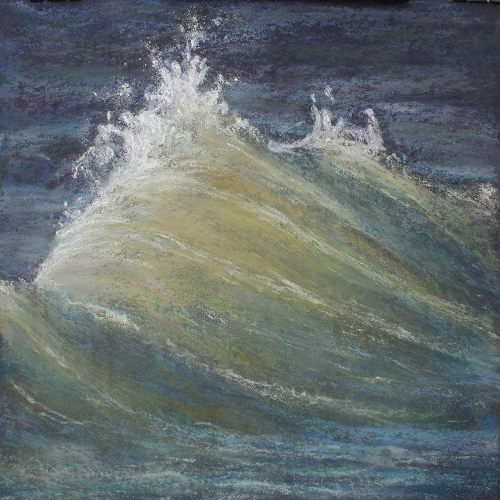 Wave #1 - Linee Pastels Fine Art