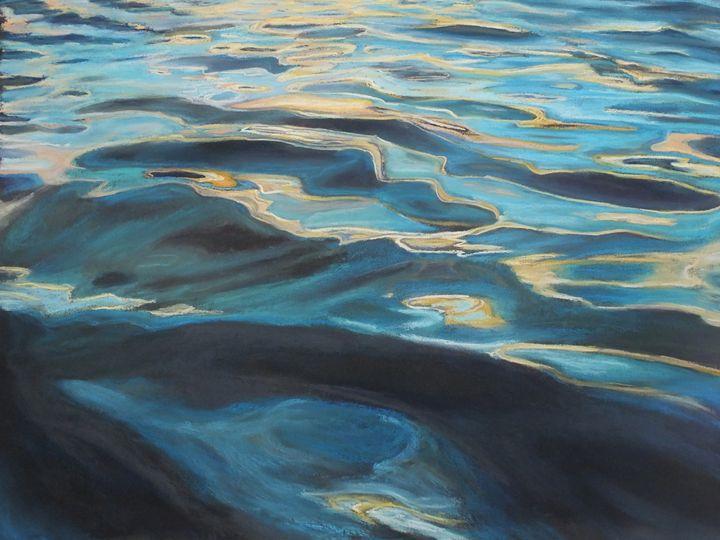 Quicksilver - Linee Pastels Fine Art