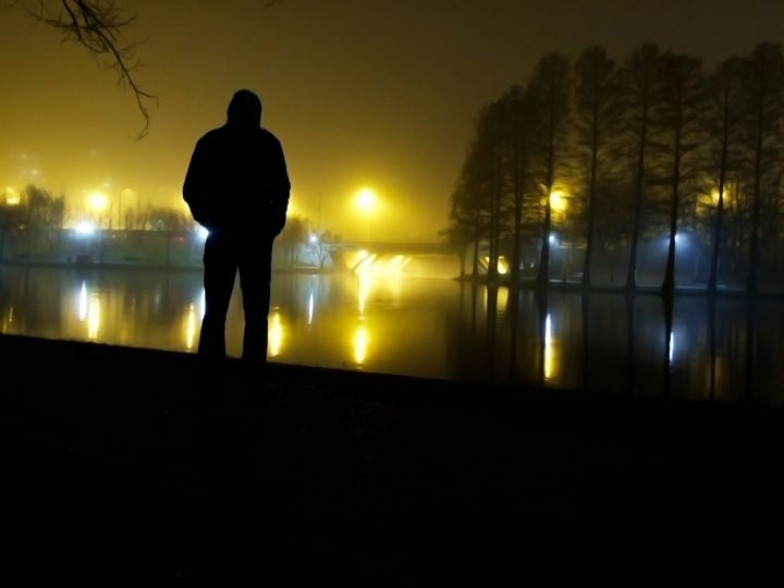 Man by the lake - Photography