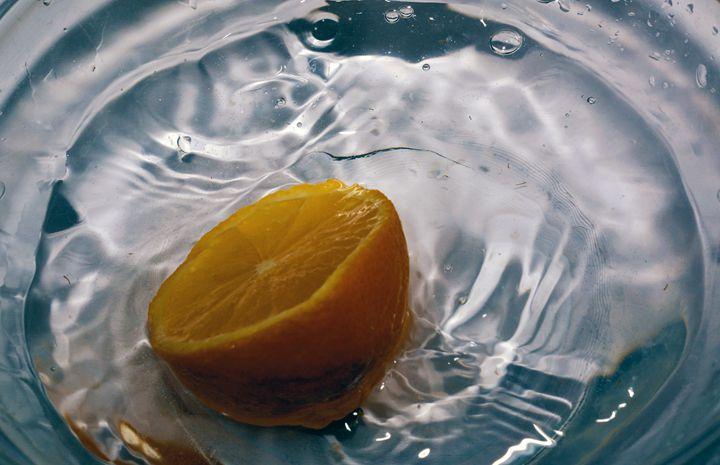 Lemon splash - Photography