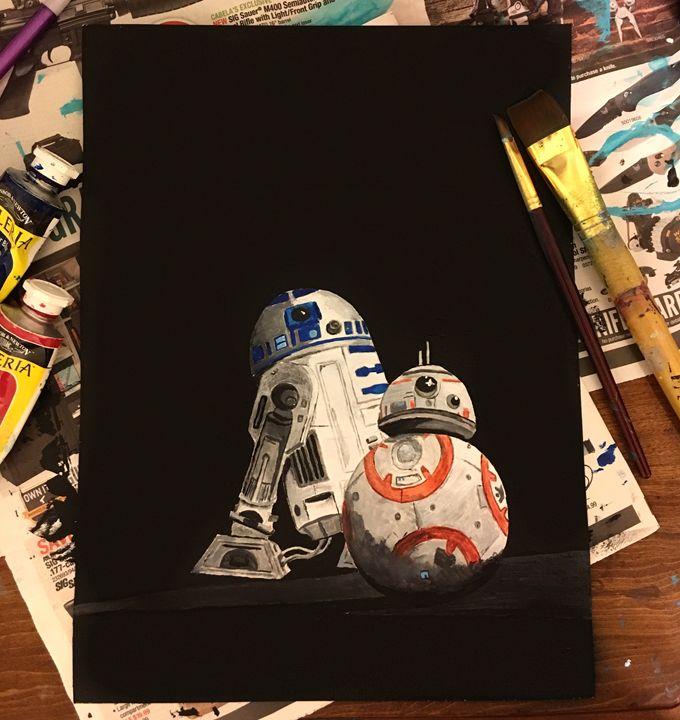 The Force Awakens - Artistically Nerdy