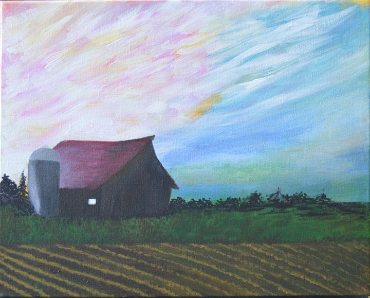 Sunset on the Farm - Inside My Soul - Kathy Fontenot