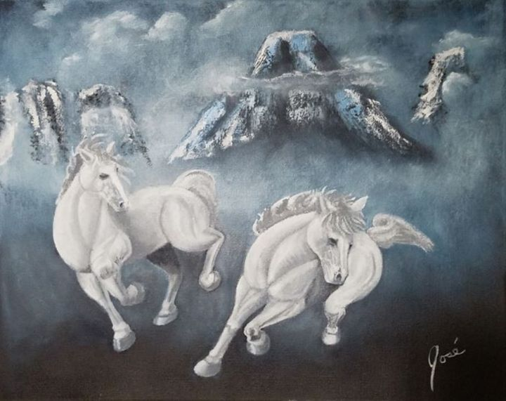White Horse Mountain - Jose Torres
