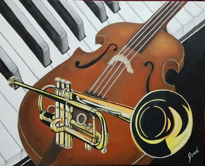 New Orleans Jazz -original sold - Jose Torres