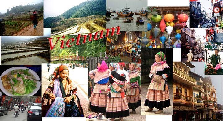 Vietnam - My Naenia Art by Carolyne Christine