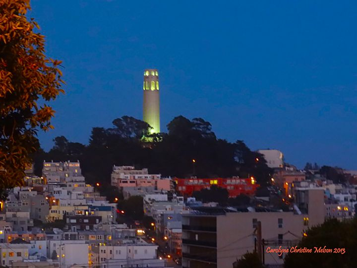 San Francisco, Coit Tower #3 - Carolyne Christine with Mearumbella Designs