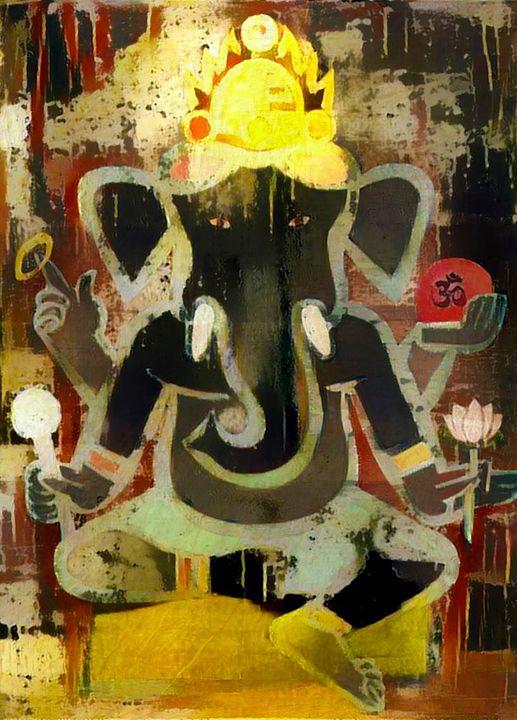 Ganesha - Laxton Studio Art