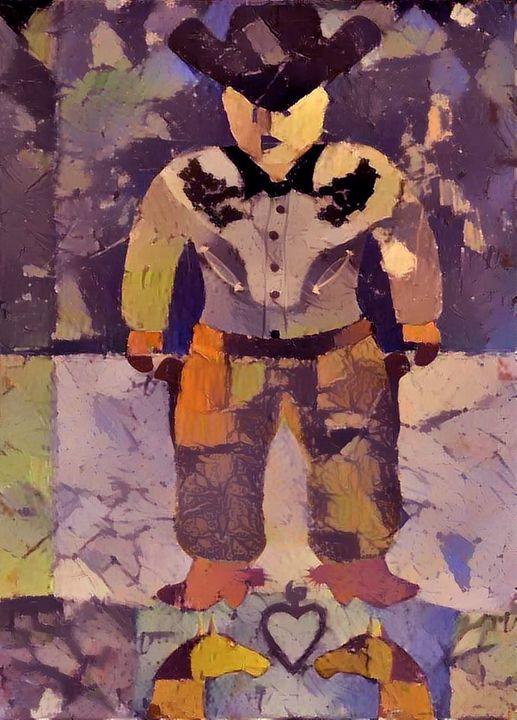 "Buck ""Smiley"" Hoxie - Laxton Studio Art"