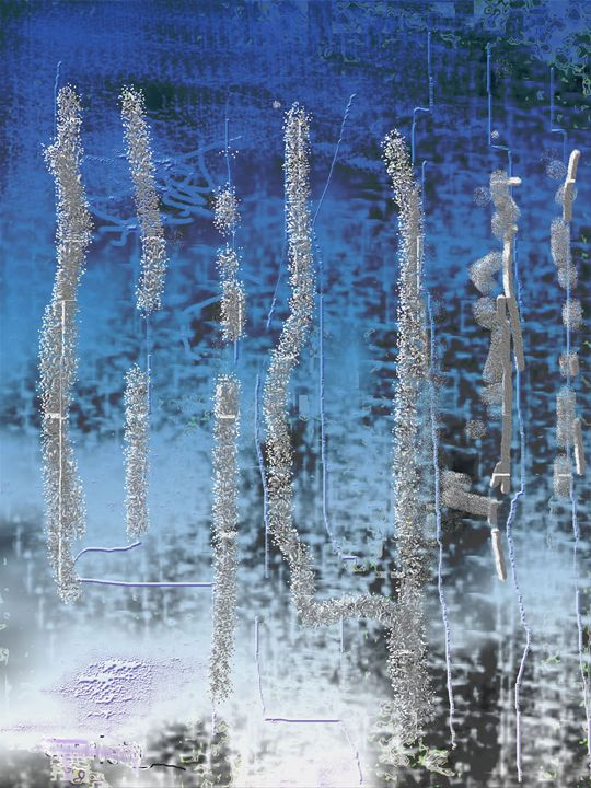 Winter Season - Abstract Paintings by Constance