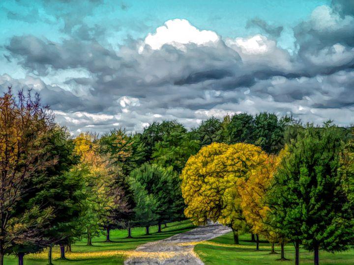FWC Autumn Road - Aimee L Maher