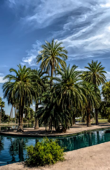 FWC Blue Lagoon Encanto Park - Aimee L Maher