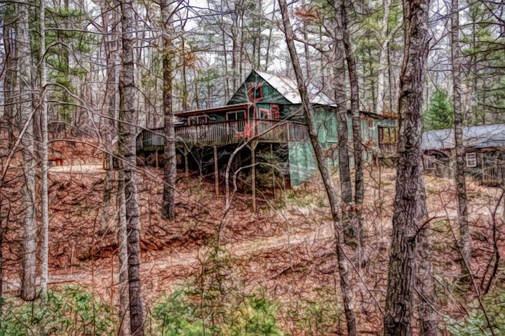 FWC Cabin in the Woods - Aimee L Maher
