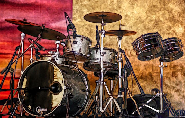 FWC Drumset - Aimee L Maher