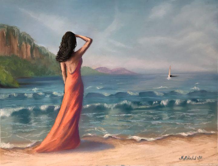 Scarlet sails - Nataly Mikhailiuk