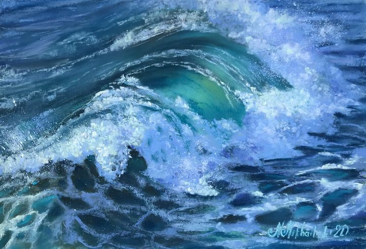 Tender Wave - Nataly Mikhailiuk