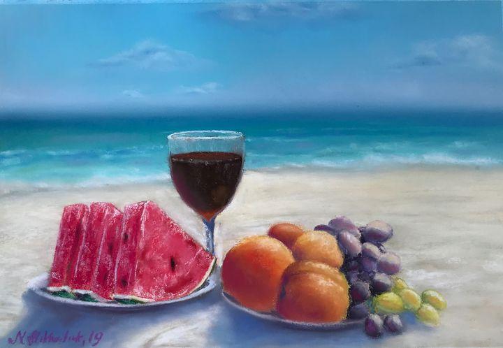 Breakfast on the beach - Nataly Mikhailiuk