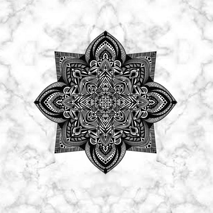 Marble Mandala - The prints loft