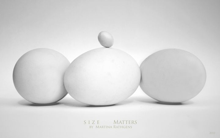 Size Matters - Martina Rathgens Art & Photography