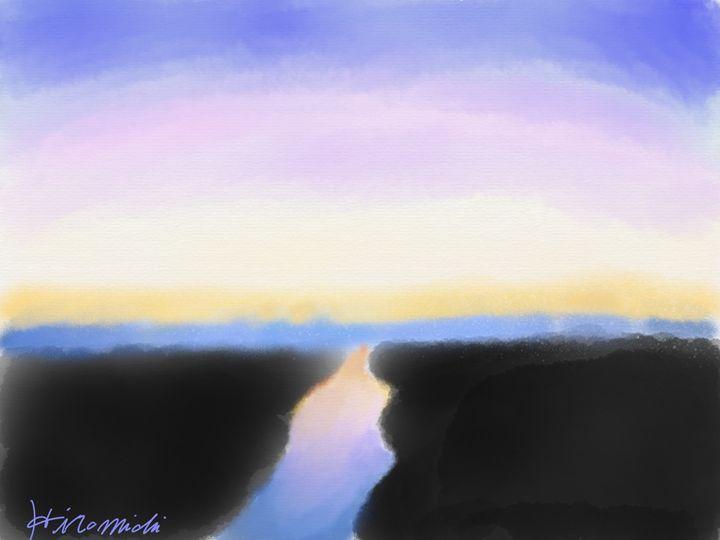 Sunset River - Hiromichi