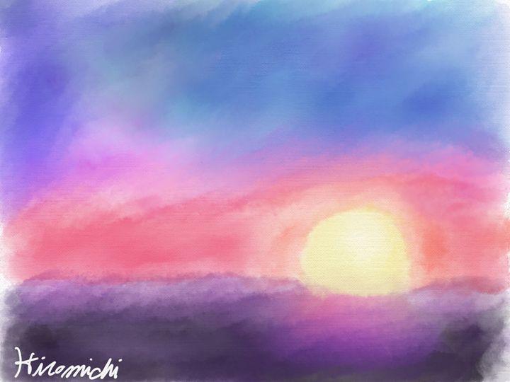 Oceanside Sunset - Hiromichi