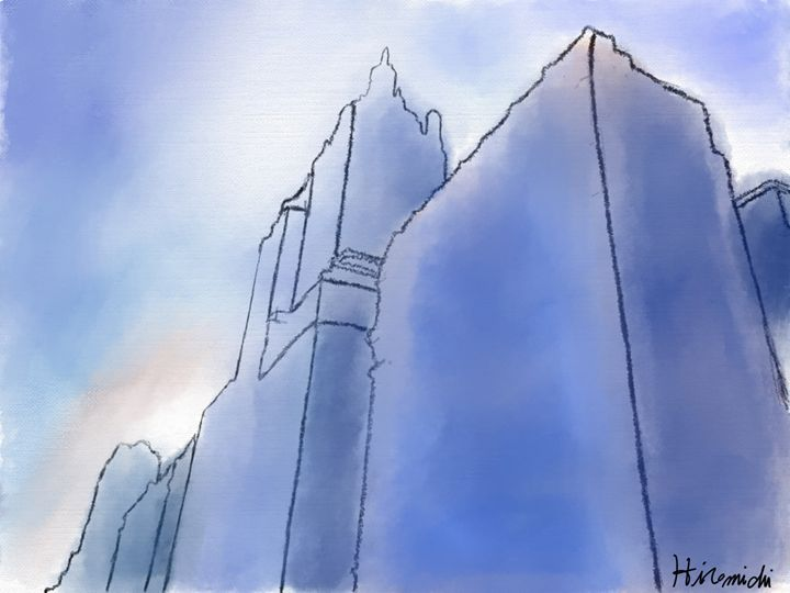 Buildings in New York City - Hiromichi