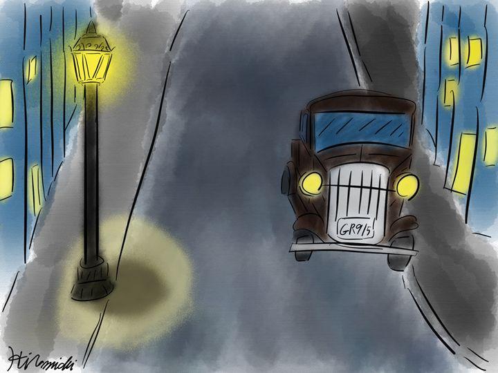 Night Street - Hiromichi