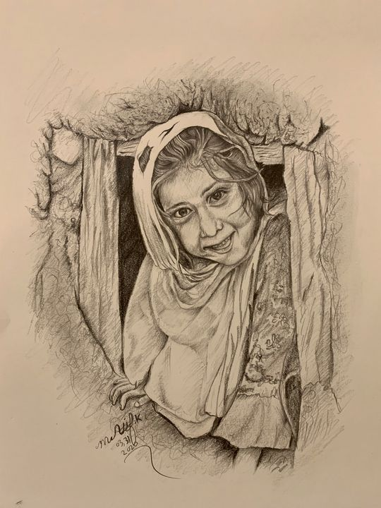 Pencil Art - FINE ARTS of M Atif Kakar