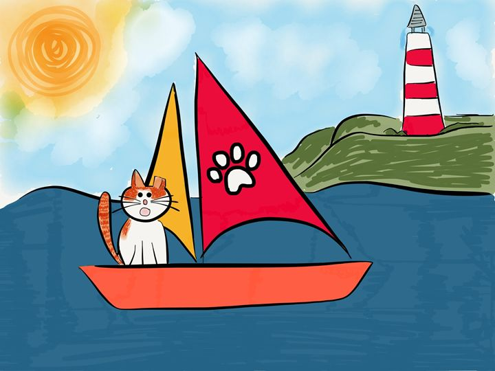 Sunshine Sets Sail - Sunshine's Doodles