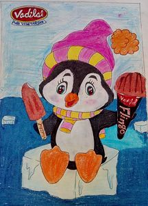 chilling penguin