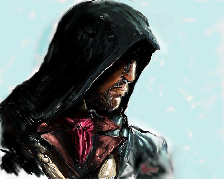 Arno the Fearless Assassin - Kevin'sDigitalArt