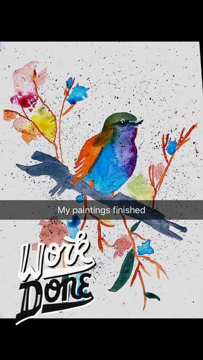 shmn,s bird - shaman,s art